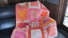 The orange quilt!