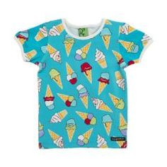 Ice Cream T Shirt - Light Sky Blue
