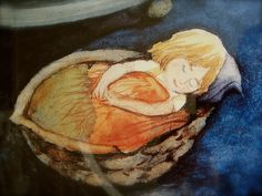 H C Andersen's Thumbelina illustrated by Svend Otto S.