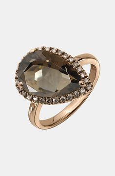 Whitney Stern Teardrop Cocktail Ring available at #Nordstrom
