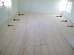 A Newbie's Guide to Plywood Plank Flooring: http://sharktails.ca/2016/04/22/newbies-guide-plywood-plank-flooring-part-1-prepping-laying-boards