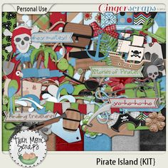 New Release PIRATE ISLAND by TwinMomScraps ON SALE %35 off! Pirate Island KIT; http://store.gingerscraps.net/Pirate-Island-KIT.html. 06/09/2013
