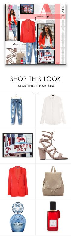 """""""CASUAL LOOK: On Location in Seattle"""" by polyvore-suzyq ❤ liked on Polyvore featuring Joseph, Pottery Barn, Schutz, STELLA McCARTNEY, TOMS, Marc Jacobs and Diana Vreeland"""