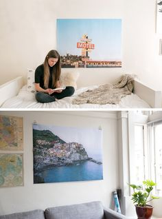 Turn any photo on your phone into a GIANT 4 foot x 3 foot color engineer print. They're just $25 (for a limited time) in the Parabo Press App. Great for big blank walls that are just begging for a big ol' photograph.