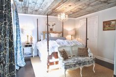 barn wood ceiling - adding interest to your ceilings