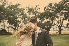 love and happiness. Rebecca and John's rustic, DIY, fairytale of a wedding http://su.pr/2hGABd photos by Claire Eliza