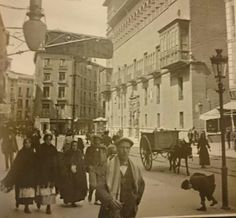 Painting, Zaragoza, Old Pictures, Cities, Places, Projects, Fotografia, Paintings, Draw