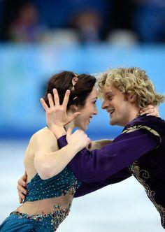 Meryl Davis and Charlie White - Team Ice Dance - Sochi 2014