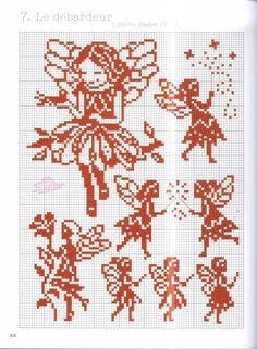 Thrilling Designing Your Own Cross Stitch Embroidery Patterns Ideas. Exhilarating Designing Your Own Cross Stitch Embroidery Patterns Ideas. Cross Stitch Fairy, Cross Stitch Angels, Cross Stitch Borders, Simple Cross Stitch, Cross Stitch Charts, Cross Stitch Designs, Cross Stitching, Cross Stitch Embroidery, Embroidery Patterns