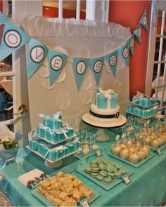 A Tiffany & Co Inspired Bridal Shower