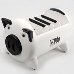 Practical Cute Pig Design Sundries Storage Box with Interlayer | Everbuying.com