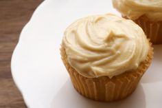 Brown Sugar Pound Cakes with Brown Sugar Cream Cheese Frosting