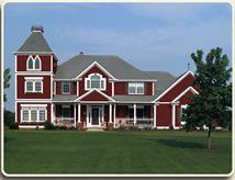 Barn Red Siding Michigan Barn And Farmstead Survey