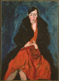 Portrait of Madeleine Castaing by Chaim Soutine