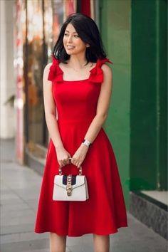 Cute Red Dresses, Elegant Dresses For Women, Blush Dresses, Simple Dresses, Casual Dresses, Short Dresses, Dresses Dresses, Classy Dress, Classy Outfits