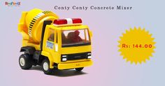 Looking for Centy Concrete Mixer- Yellow? Buy it at Rs.144.00 from Redbell Shop Now ‪#‎Toys‬ ‪#‎Toystore‬ ‪#‎Kidstore‬