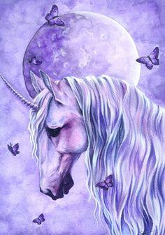 moonlit magic by Selena Fenech Unicorn Fantasy Myth Mythical Mystical Legend Licorne Enchantment Einhorn unicorno unicornio Единорог jednorožec Eenhoorn yksisarvinen jednorożca unicórnio Egyszarvú Kirin Unicorn And Fairies, Unicorn Fantasy, Real Unicorn, The Last Unicorn, 3d Fantasy, Unicorn Art, Fantasy Kunst, Rainbow Unicorn, Fantasy Artwork