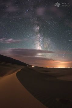 Milky Way Nightscape from Great Sand Dunes National Park by Mike Berenson - Colorado Captures on 500px