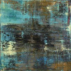 """Koen Lybaert; Oil 2014 Painting """"abstract N° 944"""""""