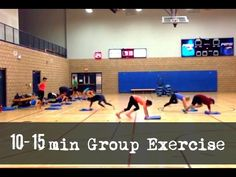 Group Drill - High Intensity - Full Body - YouTube
