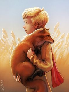 The Little Prince 2015 Movie wallpapers Wallpapers) – Art Wallpapers Little Prince Quotes, Little Prince Fox, Le Petit Prince Film, St Exupery, Prince Tattoos, Prince Images, Fox Painting, Watercolor Animals, Social Platform