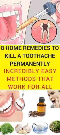 Natural teething remedies for tooth pain