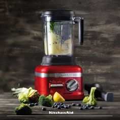Introducing the new, absolutely-must-have-this-winter, Artisan Power Plus Blender. With it's sleek design and 4 Pre-set Adapti-blend programs. From blending smoothies, juices and soup to heating soup in just 5 minutes. Look out for them at a store near you. #KitchenAidAfrica #MixwiththeBest Kitchenaid, Blenders, Decoration, Smoothies, Artisan, Kitchen Appliances, Juices, Soup, Winter