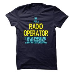 #military... Awesome T-shirts  I am a Radio Operator - (ManInBlue)  Design Description: If you are a Radio Operator. This shirt is a MUST HAVE  If you don't utterly love this design, you'll SEARCH your favourite one by way of using search bar on the header.... Check more at http://maninbluesweatshirt.com/whats-hot/best-price-i-am-a-radio-operator-maninblue.html