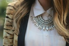 collar statement necklaces