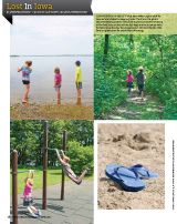 Take a classic Iowa summer vacation to Clear Lake and McIntosh Woods State Park. #vacation #Iowa