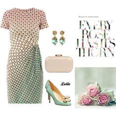 """DIANE VON FURSTENBERG Zoe dress"" by lellelelle on Polyvore"