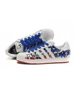 promo code dc706 ac034 Latest Adidas Superstar Mens Blue Slip-On Cheap Trainers T-1064 Discount  Adidas,