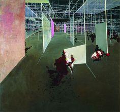 Constant Nieuwenhuys's Entrée du Labyrinthe