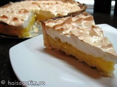 Tarta cu lamaie si bezea (Lemon meringue pie) (tarta2)   imagine reteta