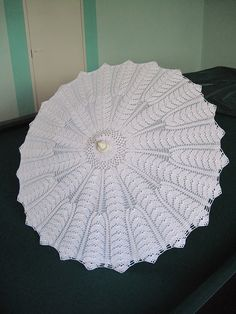 Crochet parasol ♥LCU-MRS♥ with diagrams --- 钩针:伞 - maomao - 我随心动