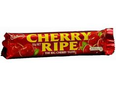 Cherry Ripe! Australian Icons, Australian Food, Cadbury Chocolate, Chocolate Bars, Aussie Food, Australia Day, Favorite Candy, Deep Dish, The Best