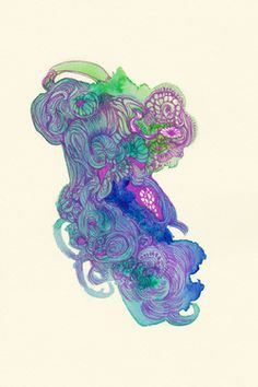 "Saatchi Art Artist Satomi Sugimoto; Drawing, ""Untitled [#SS14DW037]"" #art"