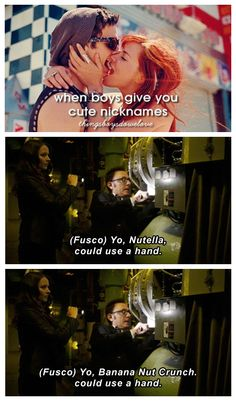 "His nicknames for her are hilarious  Person of Interest | Lionel Fusco, Sam ""Root"" Groves."