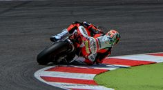 https://flic.kr/p/yTatF7 | Red power Ducati | Tati Mercado on Ducati Panigale Superbike