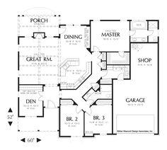 House Plan B1231A -The Blackburn