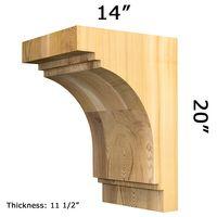 Wooden Corbel 30T12