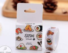 Cheap tape samsung, Buy Quality tape video directly from China tape looms Suppliers: Japanese Kawaii Sushi Washi Tape Scrapbooking Decorative Scotch Cinta Deco Masking Tape * Diary Photo Album Diy Tapes Scrapbooking Stickers, Craft Stickers, Washi Tape Diy, Masking Tape, Washi Tapes, Duct Tape, Album Diy, Sticky Paper, Cute Stationery