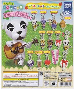 Animal Crossing: New Leaf Gashapon Mascot Collection Complete Set (10) | eBay