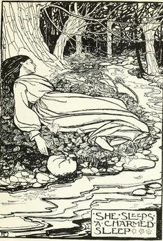 A Book of PoetryIllustrated by Florence Harrison    i love the way the trees look in this drawing; they remind me of wild forests and lonely paths… Forests, Susan Harrison, Florence Susan, Art, Florence Harrison, Poetry Illustration, Book Illustration, Drawing, Children Book