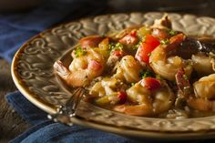 Slow Cooker Shrimp and Sausage Gumbo - New Orleans style food!  www.GetCrocked.com