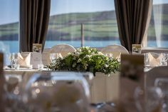 Dingle Skellig Hotel in Dingle, Kerry, Munster, caters for weddings of 250 from per person. Enquire with WeddingDates today! Places Ive Been, Wedding Venues, Table Decorations, Home Decor, Wedding Reception Venues, Wedding Places, Decoration Home, Room Decor, Home Interior Design