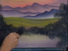 Bob Ross - Rolling Hills (Season 13 Episode 1)
