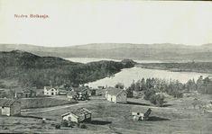 Telemark fylke Notodden kommune Nedre Bolkesjø Utg NLR Påskrevet 1909 Painting, Painting Art, Paintings, Paint, Draw