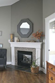 Inspiring Corner Fireplace Ideas In Living Room 16