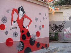 Gypsies, Graffiti, Tapas, Andalusia   This amongst other numerous five-meter wide murals of flamenco dancers and street graffiti of different assortments indicated the locals' undying passion for art.